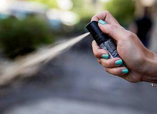 spray urticante - studenti - palermo