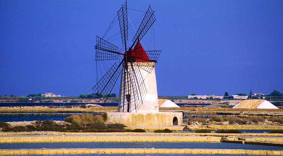 Trapani salt pans - Highlights tour of Sicily