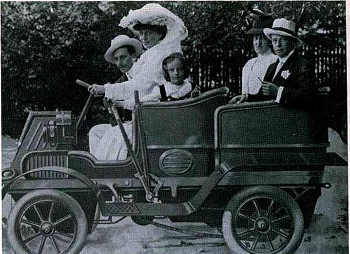 Ignazio Florio e Donna Franca