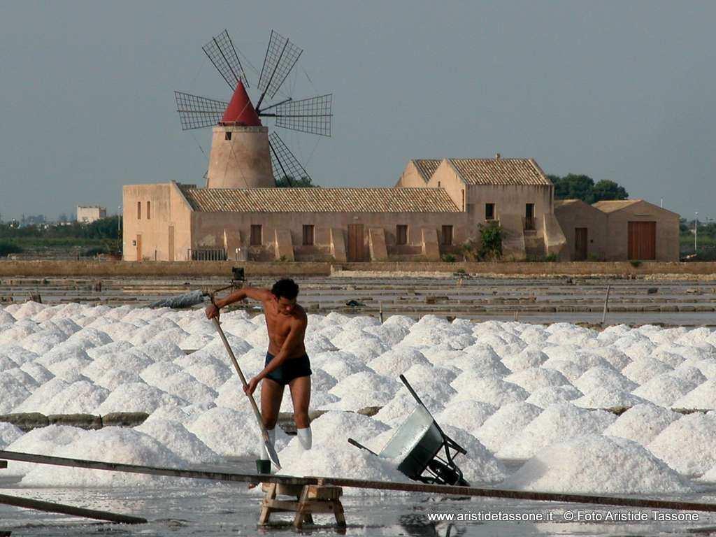 Salt worker