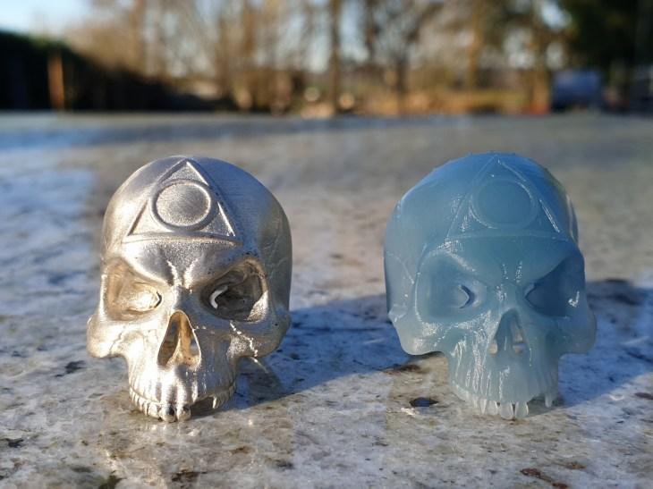 Skull ring Hà;People