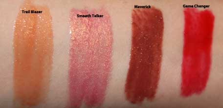Something to Talk Apout 4-Piece Mini Moxie Plumping Lipgloss Collection by bareMinerals #7
