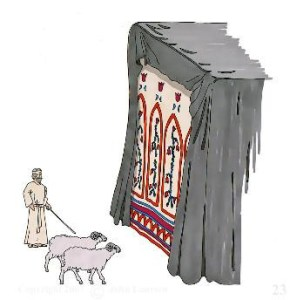 [Image: Tying-the-two-goats-at-the-door.jpg?resize=290%2C300]