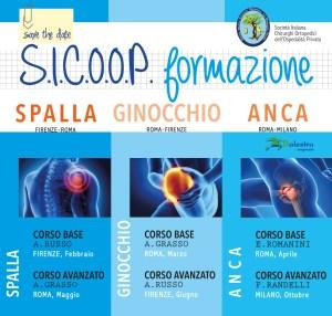 FEB - OTT 2017 | SICOOP formazione - Spalla, Ginocchio, Anca