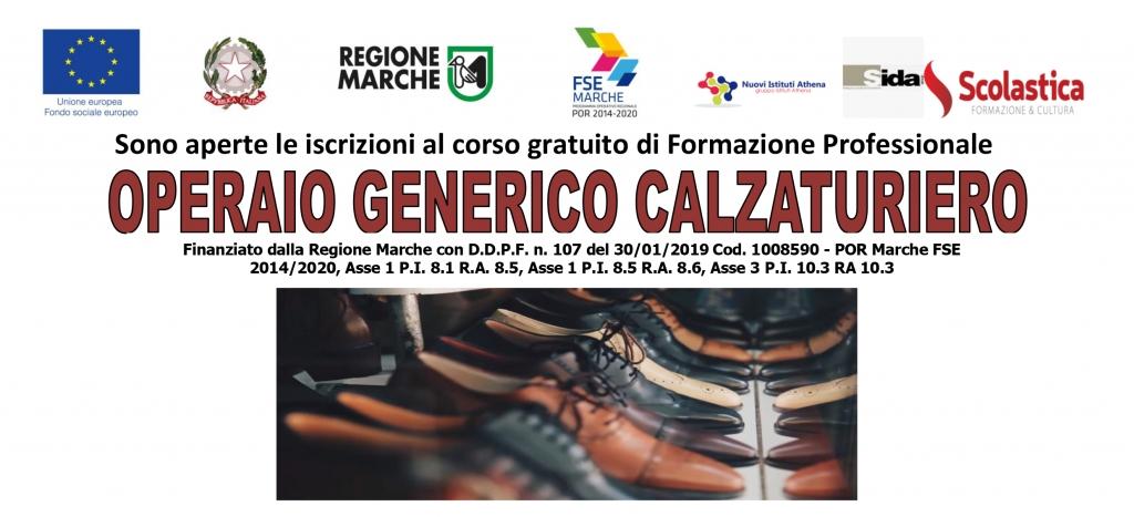 Corso Gratuito Operaio Generico Calzaturiero Sida Group Srl