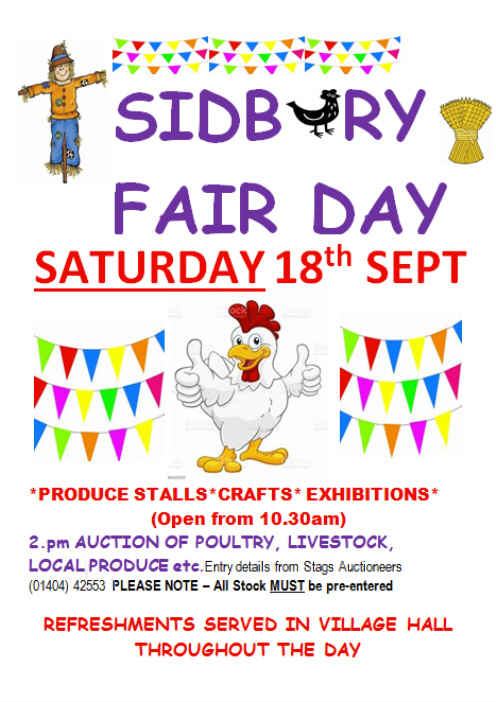 Sidbury Fair 2021