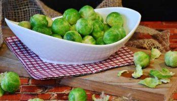 Maronen-Rosenkohl-Gemüse