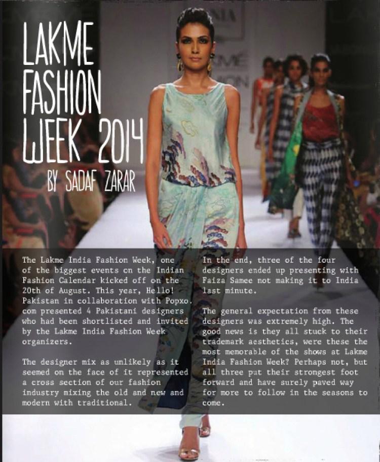 Sania Maskatiya at Lakme India Fashion Week