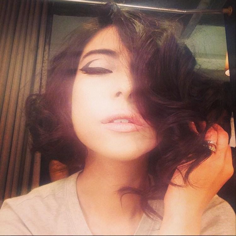 Meesha channels her inner Gaga