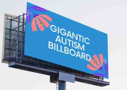 Add Your Voice to the Giant Autism Billboard for World Autism Awareness Day