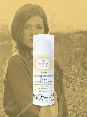 Leichte Feuchtigkeitscreme von Sidefyn Cosmetics