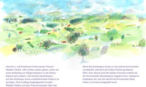 Buch: Detektiv Dachs im Emmental - Der Blumenkäse - Seite 8