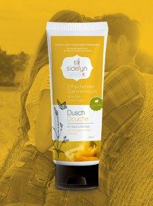 Molke-Dusch Erfrischender Sommertraum von Sidefyn Cosmetics