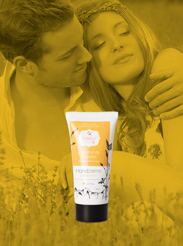 Molke-Handcreme Erfrischende Zitronella von Sidefyn Cosmetics