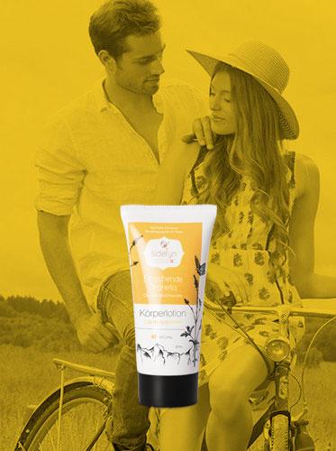 Molke-Körperlotion Erfrischende Zitronella von Sidefyn Cosmetics