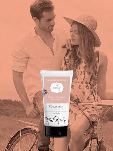 Molke-Körperlotion Sanfter Waldzauber von Sidefyn Cosmetics