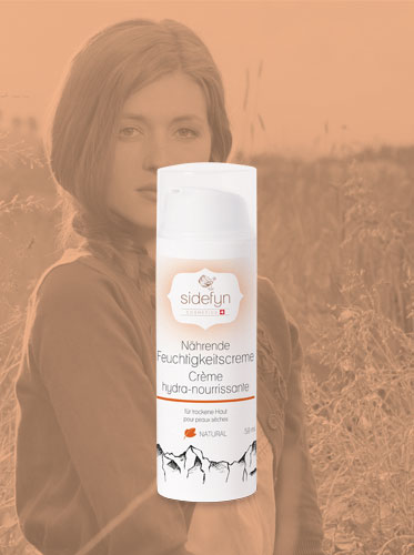 Nährende Feuchtigkeitscreme von Sidefyn Cosmetics