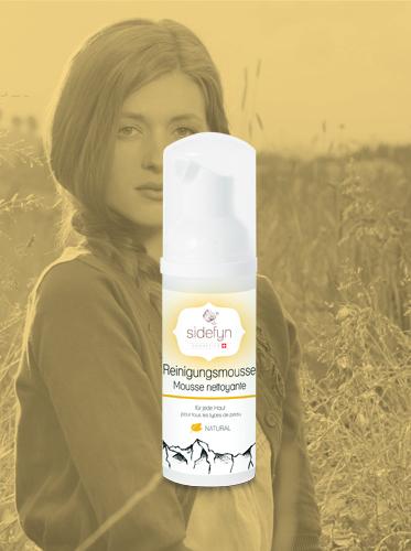 Reinigungsmousse Sidefyn Cosmetics für jede Haut