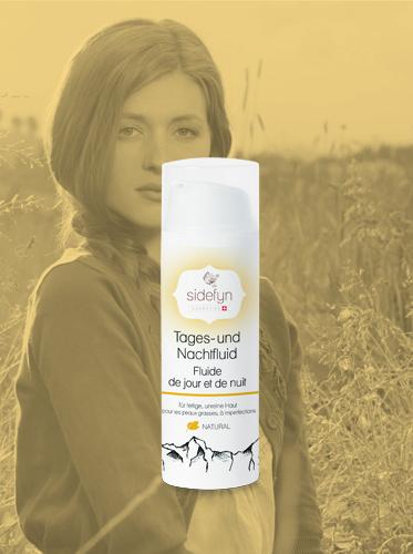 Tages- und Nachtfluid Sidefyn Cosmetics