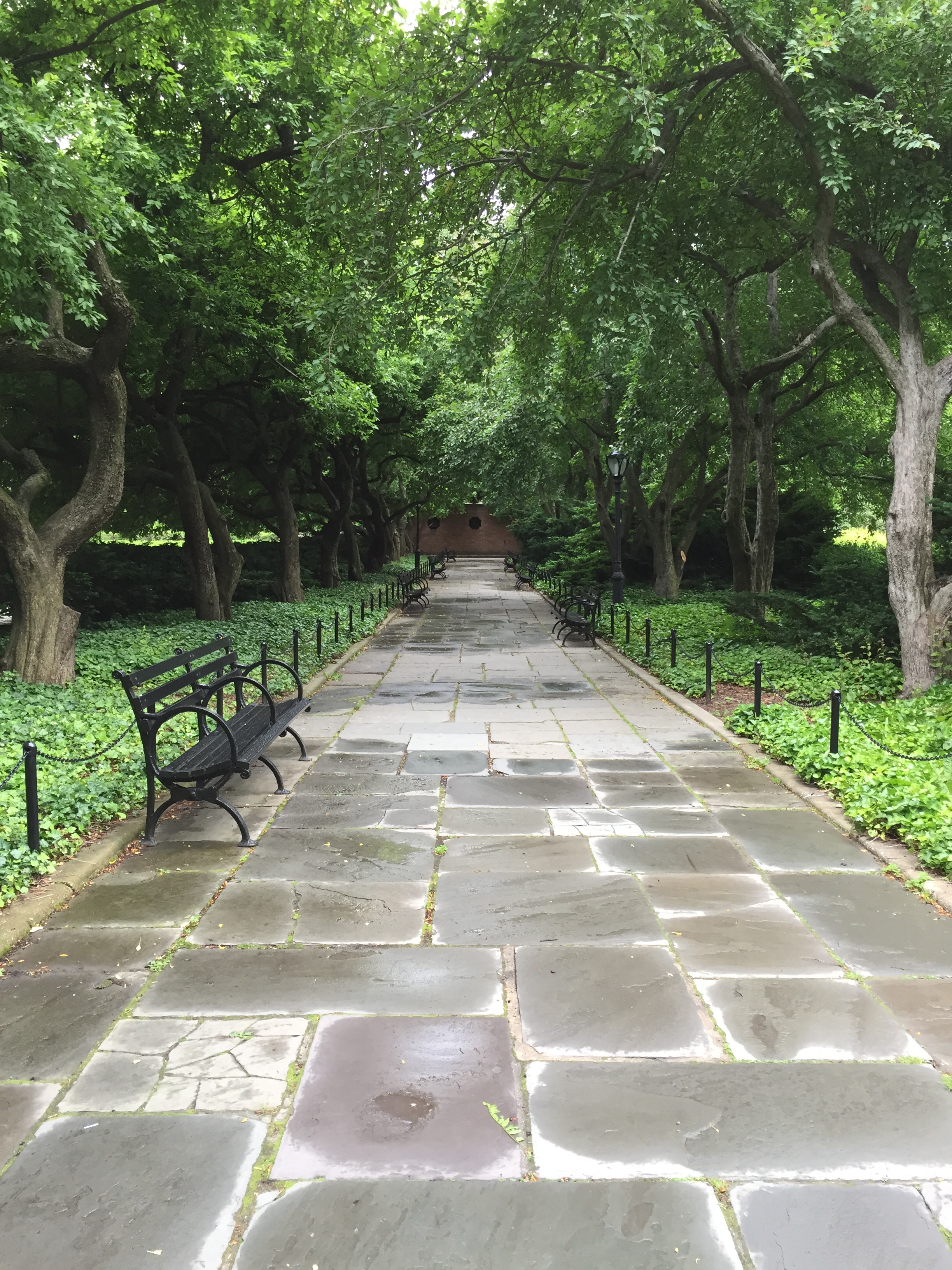 Pathway in the Conservatory Garden