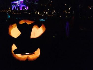A spooky Jack O' Lantern