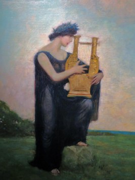 Lyre Player, Pyle Dining Room