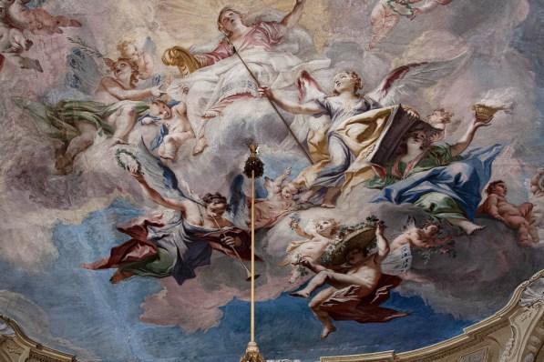Ceiling Fresco, Matthaus Gunther. Ludwigsburg Palace Ludwigsburg
