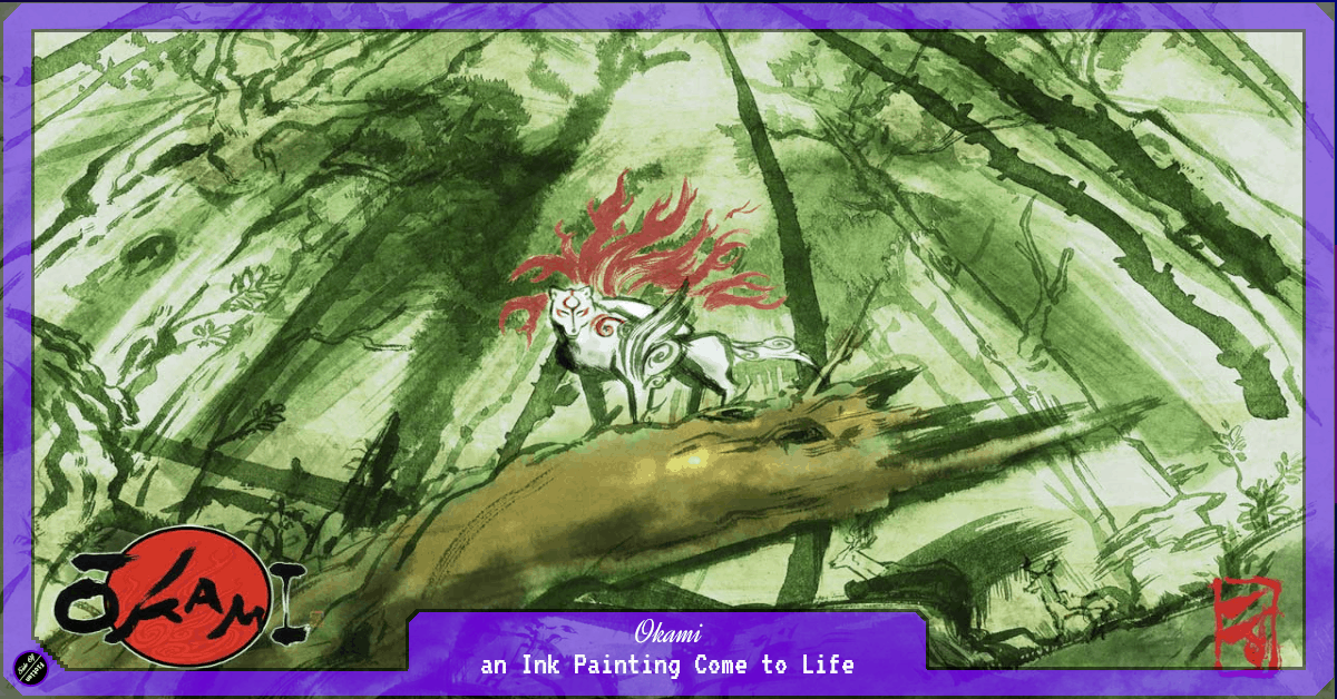 Okami – an Ink Painting Come to Life