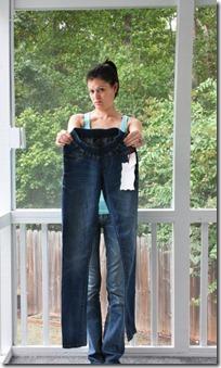 elastic waist jeans