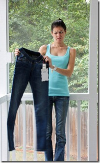 super small maternity jeans