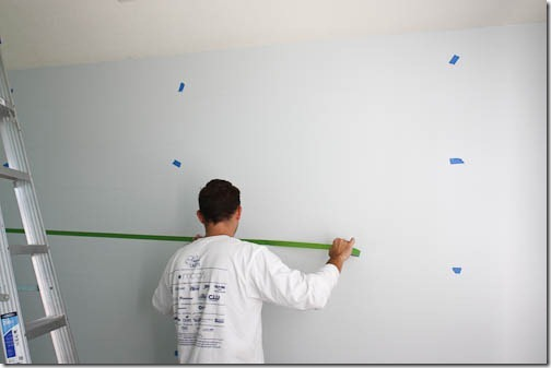 measuring stripes for wall
