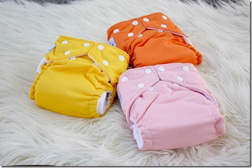 cloth diapering