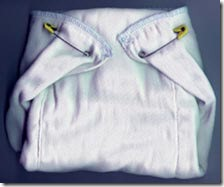 prefold diapers with pins