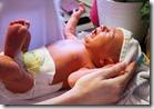first bath baby