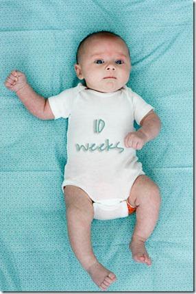 10 week old baby