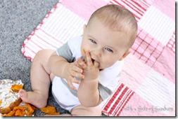 sweet potatoes baby finger food