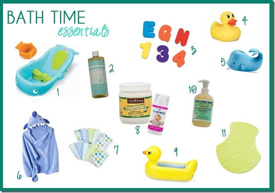 bath-time-essentials