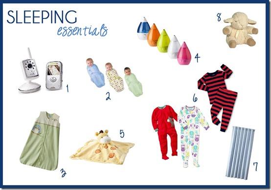 sleeping-essentials