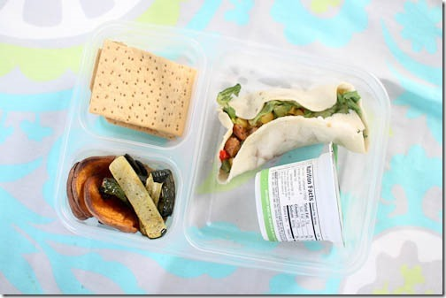 healthy school lunch idea