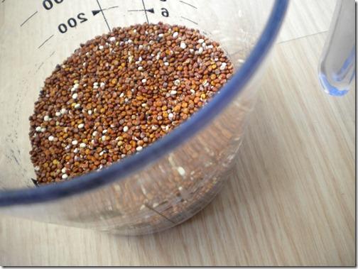 measure quinoa