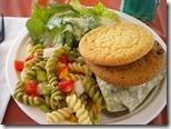 pasta salad race food