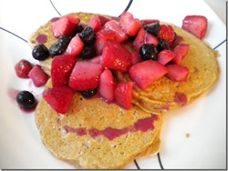 fruit pancakes