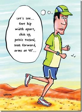 running stride cartoon
