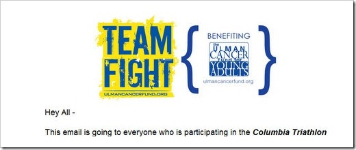 team fight columbia tri announcement