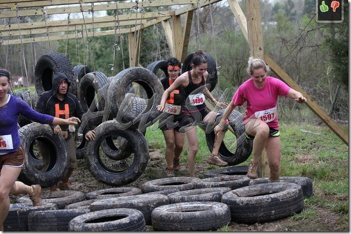 tire jungle race