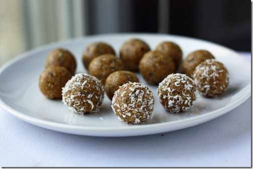 raw cookie dough truffles