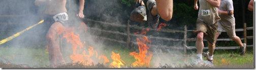 run through fire pit