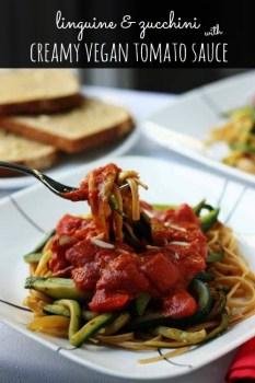 vegan creamy tomato sauce