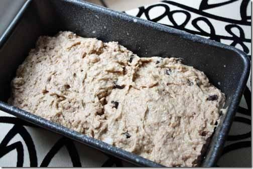 banana bread batter for baking