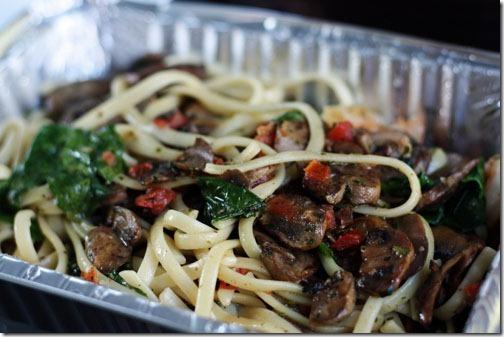 pasta rambo carrabba's special